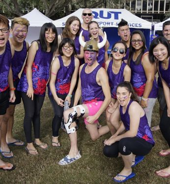Student One – Main sponsor of QUT Dragon Boat Regatta