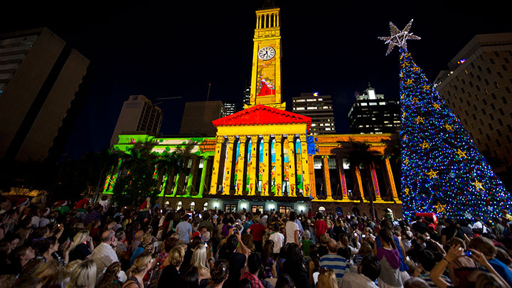 Brisbane Christmas Tree