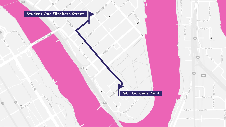 QUT Map
