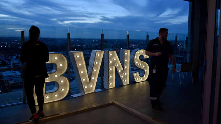 BVNS light up sign