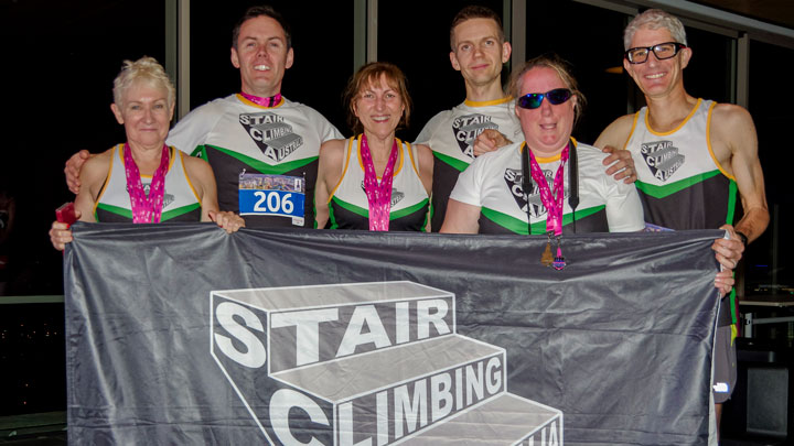 Brisbane Vertical Night Sprint Stair Climbing Australia