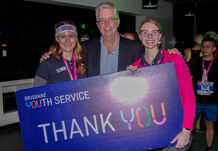 Thank you Brisbane Vertical Night Sprint