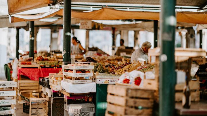 Produce markets
