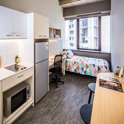 Choice of studios and apartments